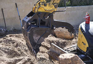 Excavator Clamp Bucket Grapple