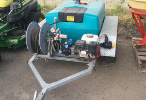 Rapid Spray ATV Trailer Sprayer 400L Non Boom Sprayer