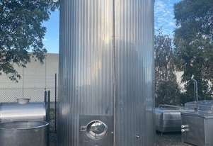 30,000ltr Jacketed Stainless Steel Milk Silo, Tank