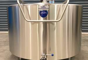 1,000 New Refrigerated Food Grade Tank, Milk Vat (Made to Order)**WE ARE OPEN DURING LOCKDOWN**