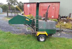 Green waste mulcher