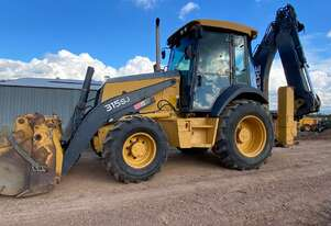 JOHN DEERE 315SJ 4WD BackHoe SIDE SHIFT 4in1 Multi