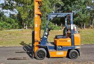 Toyota 25 Dual Fuel Forklift 2.5 Tons