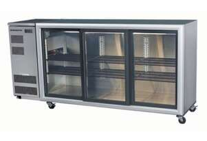Skope BB580 3 Glass Sliding Door Fridge