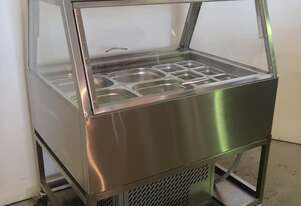 Woodson W.CFSS23 Cold Food Bar & Trolley