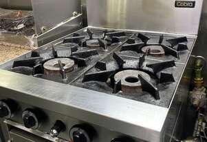 Moffat Commercial 4 gas burner