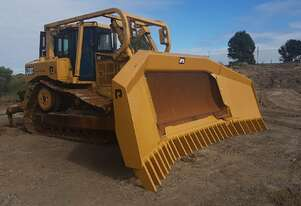 Caterpillar D6T Dozer with Stickrake for Hire