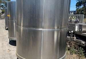 STAINLESS ASSOCIATES stainless steel tank