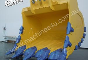 BOSS ITALIA 100-150 TON MINE SPEC ROCK BUCKETS