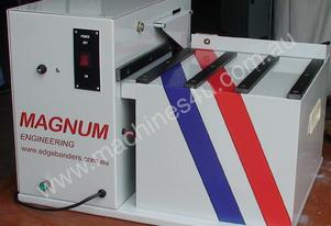 New Magnum Model CR100 Corner Rounding machine.
