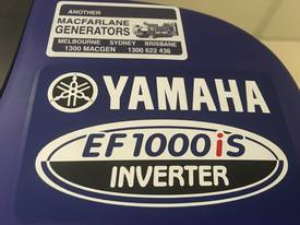 Yamaha EF1000iS Inverter Generator - picture4' - Click to enlarge
