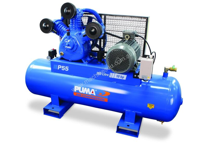 7.5kW Quality Tank Mounted Piston Air Compressor