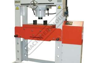 HPM-200T Industrial Motorised Hydraulic Press - 200 Tonne 10hp 415V Motor, 350mm Ram Stroke & 700mm