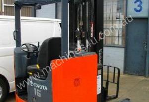 Toyota 6FBRE16 electric reach truck RENT ME