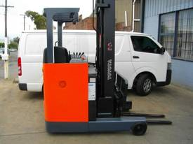 Toyota 6FBRE16 electric reach truck RENT ME - picture1' - Click to enlarge
