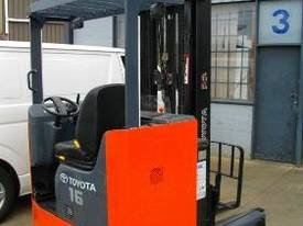 Toyota 6FBRE16 electric reach truck RENT ME - picture0' - Click to enlarge