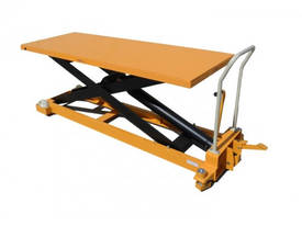 1000kg Huge Deck Size Scissor Lift Table