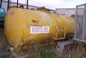 HEAVY DUTY STEEL CARTAGE TANK