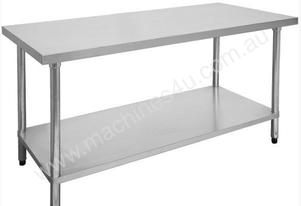 F.E.D. 2100-7-WB Economic 304 Grade Stainless Steel Table 2100x700x900