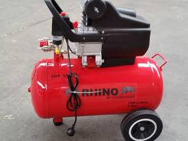 RHINO AIR COMPRESSOR 2Hp 50 Ltr TANK SINGLE PHASE  *ON SALE* - picture1' - Click to enlarge