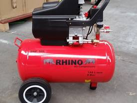 RHINO AIR COMPRESSOR 2Hp 50 Ltr TANK SINGLE PHASE  *ON SALE* - picture0' - Click to enlarge