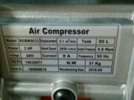 RHINO AIR COMPRESSOR 2Hp 50 Ltr TANK SINGLE PHASE  *ON SALE* - picture2' - Click to enlarge