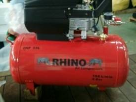 RHINO AIR COMPRESSOR 2Hp 50 Ltr TANK SINGLE PHASE  *ON SALE* - picture3' - Click to enlarge