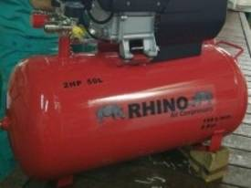 RHINO AIR COMPRESSOR 2Hp 50 Ltr TANK SINGLE PHASE  *ON SALE* - picture7' - Click to enlarge