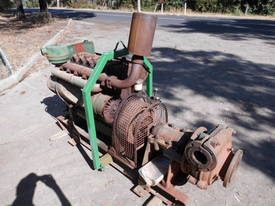 rubber lined sand pump , 6cyl lister HR6 - picture0' - Click to enlarge