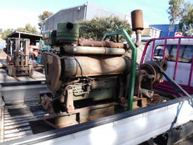 rubber lined sand pump , 6cyl lister HR6 - picture2' - Click to enlarge
