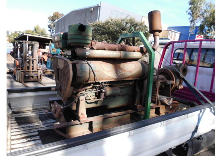rubber lined sand pump , 6cyl lister HR6