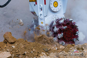AQ-3XL Antraquip Rock Grinder (Suitable for 15T+ Carriers)