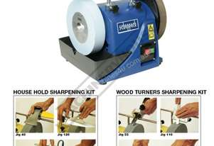 TiGer 2000S PACKAGE Wetstone Grinder Package with + Wood Turners + House Hold Kits Ø200 x 40mm K 22