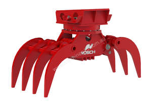 VOSCH HD rotating grapple for 10-16T excavators