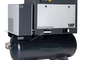 58 CFM Rotary Screw Air Compressor & Dryer