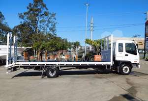 FRR500 Single CAB Beavertail Truck. 419,981 km
