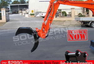 Hydraulic Rock Grab suit 2 to 3T Excavator ATTGRAB
