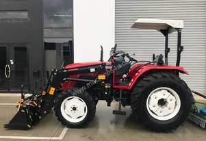 New Huaxia 60hp Tractors with front end loader - 3 Year Warranty