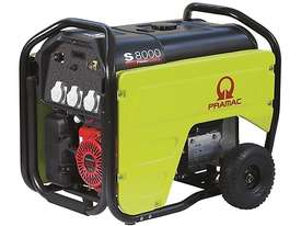 PRAMAC 7.2kVA Max PETROL Portable Generator- S8000 - picture0' - Click to enlarge