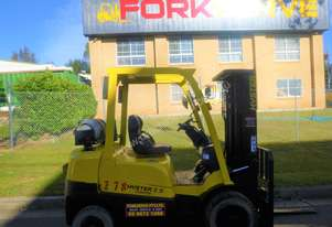 Refurbished 2.5 Tonne Hyster Gas Forklift - Low Hours, Container Mast