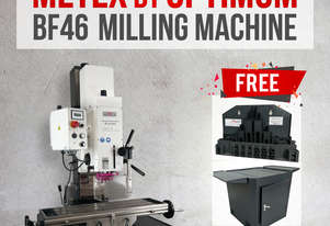SALE!!!- BF46 Milling Machine Metex Opti Brushless 2.2kw Geared Head Variable Speed Mill