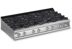 Baron 7PC/G1605 Eight Burner Bench Model Gas Cook Top
