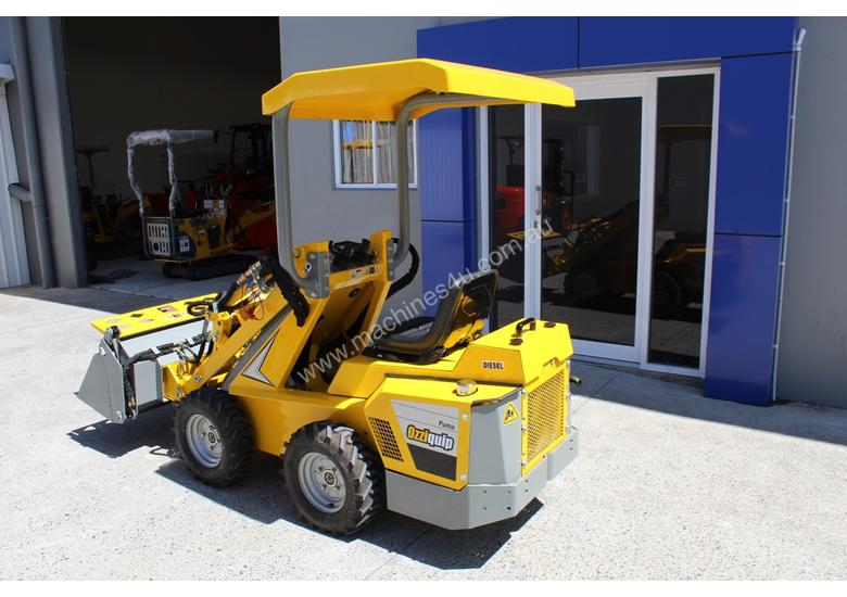 Ozziquip Puma Mini Loader with Digger Trencher
