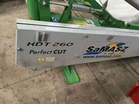 Samasz KDT260 Mower Hay/Forage Equip - picture1' - Click to enlarge
