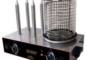 Semak HD4S Hot Dog Cooker and Spiker
