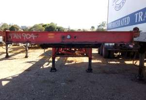 Universal Custom Semi Skel Trailer