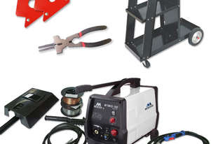 Metaltech180 Gas/Gasless Mig Welder Kit