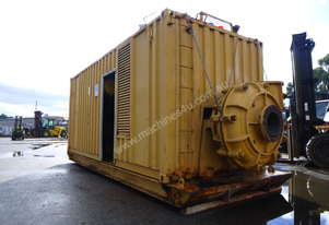 Containerised Diesel Powered Pump Unit