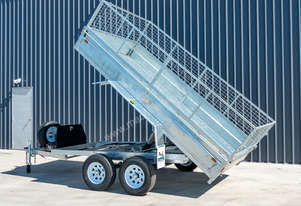 10ft x 5ft Hydraulic Tipping Trailer 2T