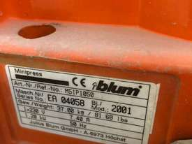 BLUM Minipress for sale - picture0' - Click to enlarge